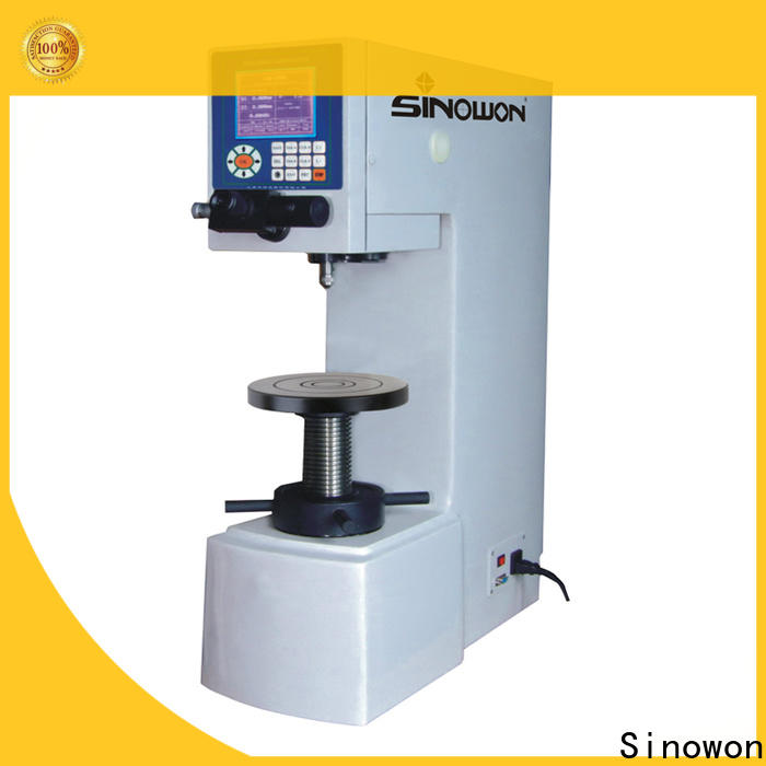 Sinowon reliable brinell hardness unit directly sale for soft alloys