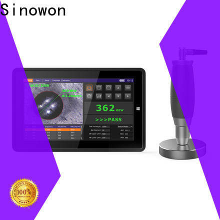 Sinowon quality brinell hardness test manufacturer for steel products