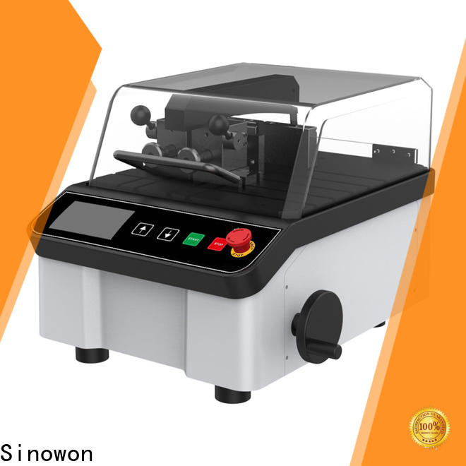 Sinowon manual precision cutting machine with good price for medical devices