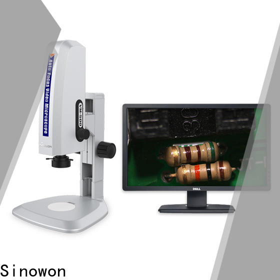 Sinowon Video Microscope factory price for cast iron