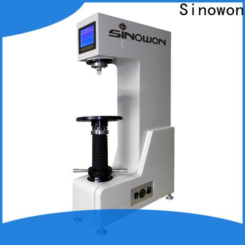 Sinowon optical brinell hardness test procedure customized for cast iron