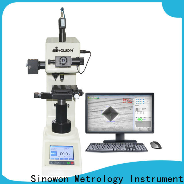 Sinowon vickers hardness testing machine inquire now for small areas