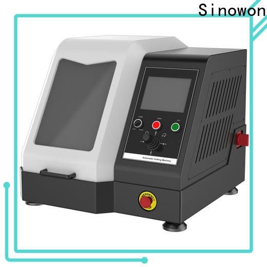 Sinowon approved metallurgical cutting machine with good price for electronic industry