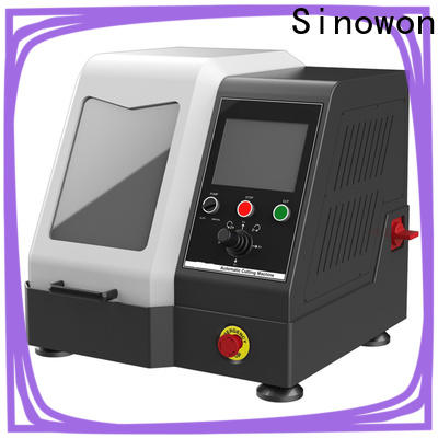 approved manual precision cutting machine design for electronic industry