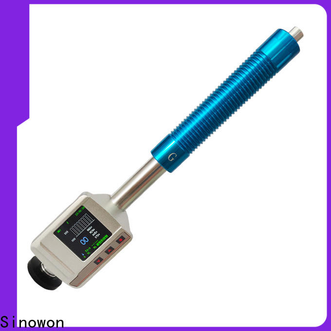Sinowon certificated portable hardness tester machine wholesale for industry
