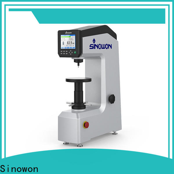 Sinowon hot selling rockwell hardness examples manufacturer for thin materials