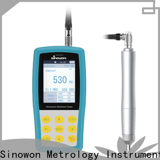 Sinowon stable ultrasonic portable hardness tester supplier for mold