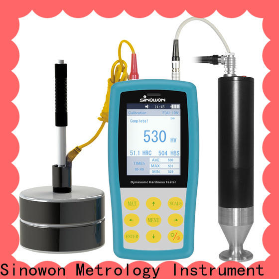 Sinowon sturdy ultrasonic portable hardness tester factory price for gear