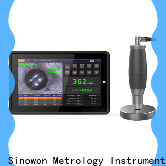 Sinowon brinell hardness unit series for steel products