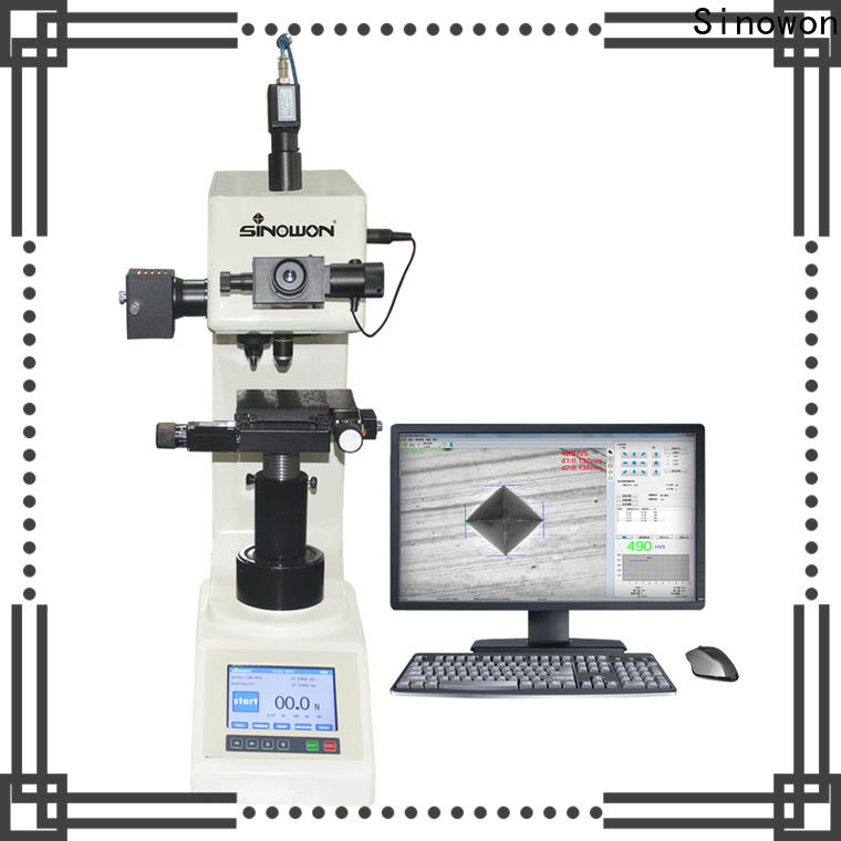 automatic vickers hardness test with good price for measuring