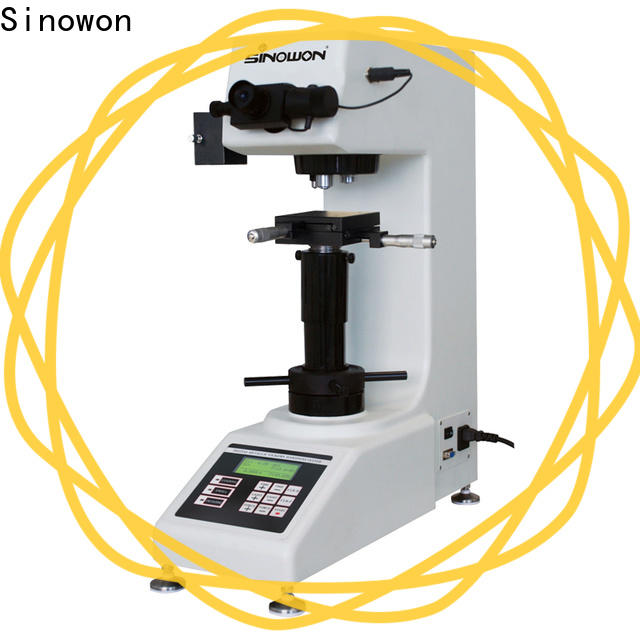 Sinowon approved vickers hardness test with good price for small parts