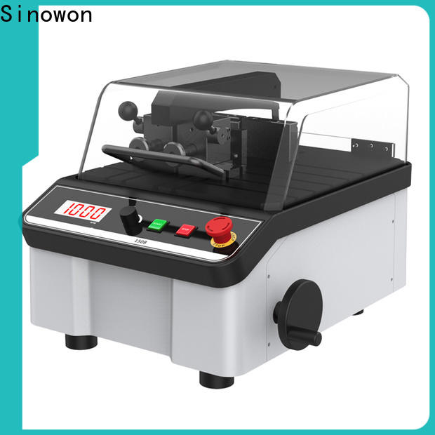 Sinowon cut machine with good price for aerospace