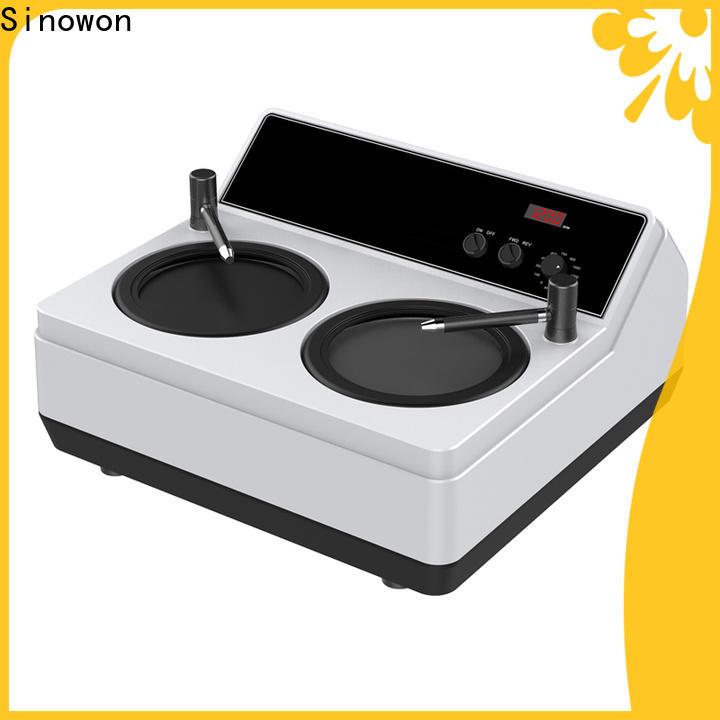 Sinowon bench grinder polishing wheel design for medical devices