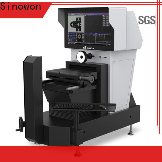 horizontal visual measuring machine series for thin materials