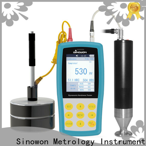 Sinowon certificated ultrasonic thickness gauge supplier for gear