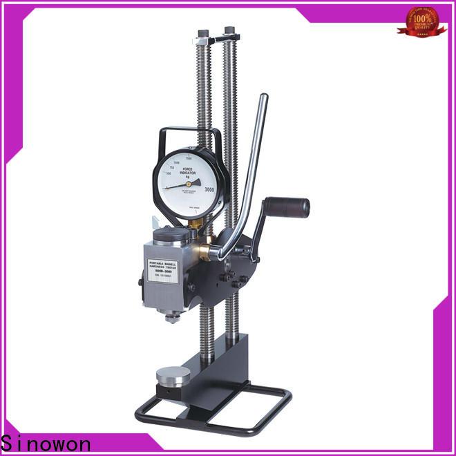Sinowon hot selling brinell hardness unit customized for cast iron