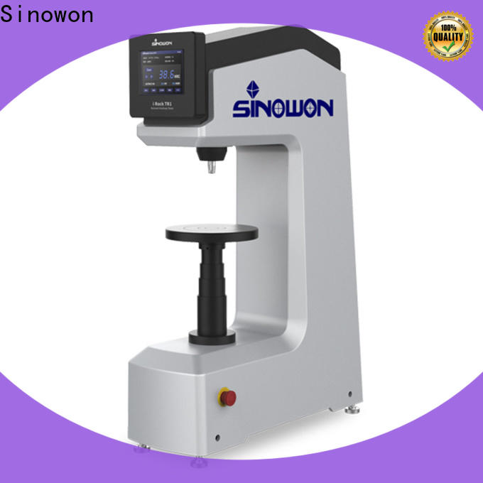 Sinowon quality superficial hardness tester manufacturer for small parts