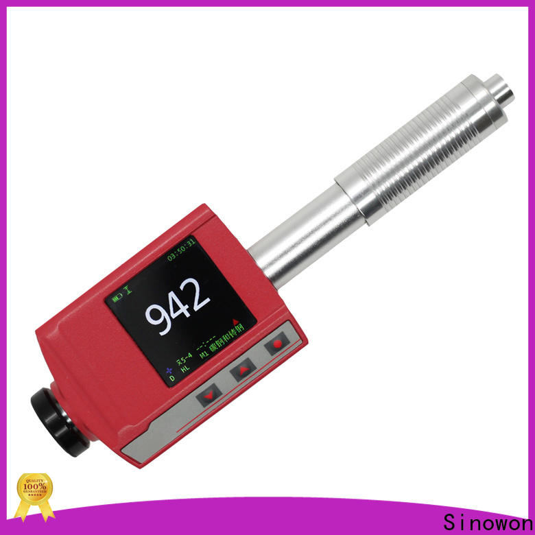 Sinowon certificated portable hardness tester machine supplier for precision industry