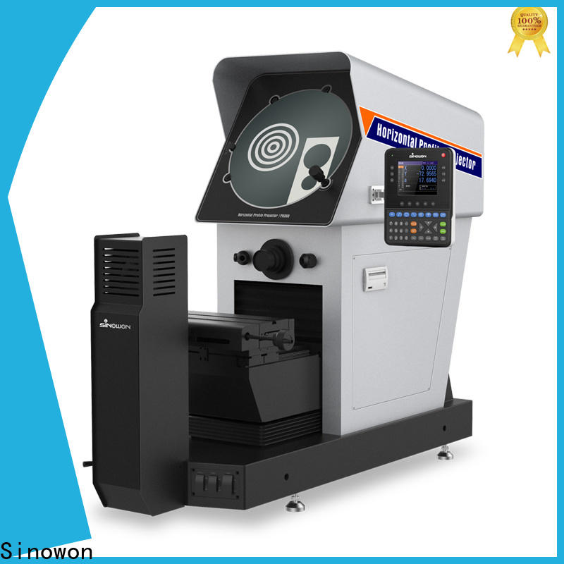 Sinowon durable profile projector machine manufacturer for precision industry