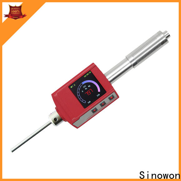 Sinowon portable hardness tester machine design for commercial