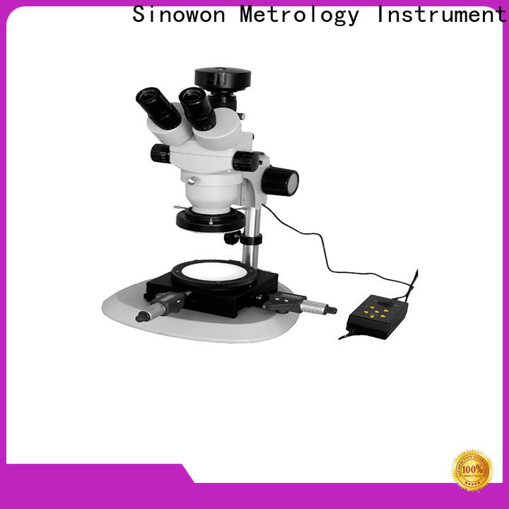 stable optical stereo microscopes with good price for precision industry