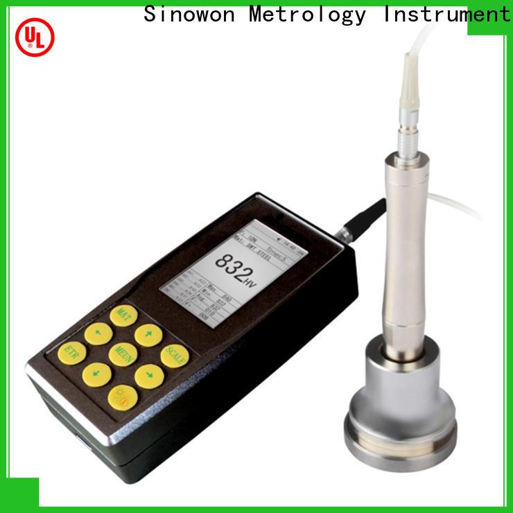 Sinowon motorized ultrasonic hardness tester design for mold