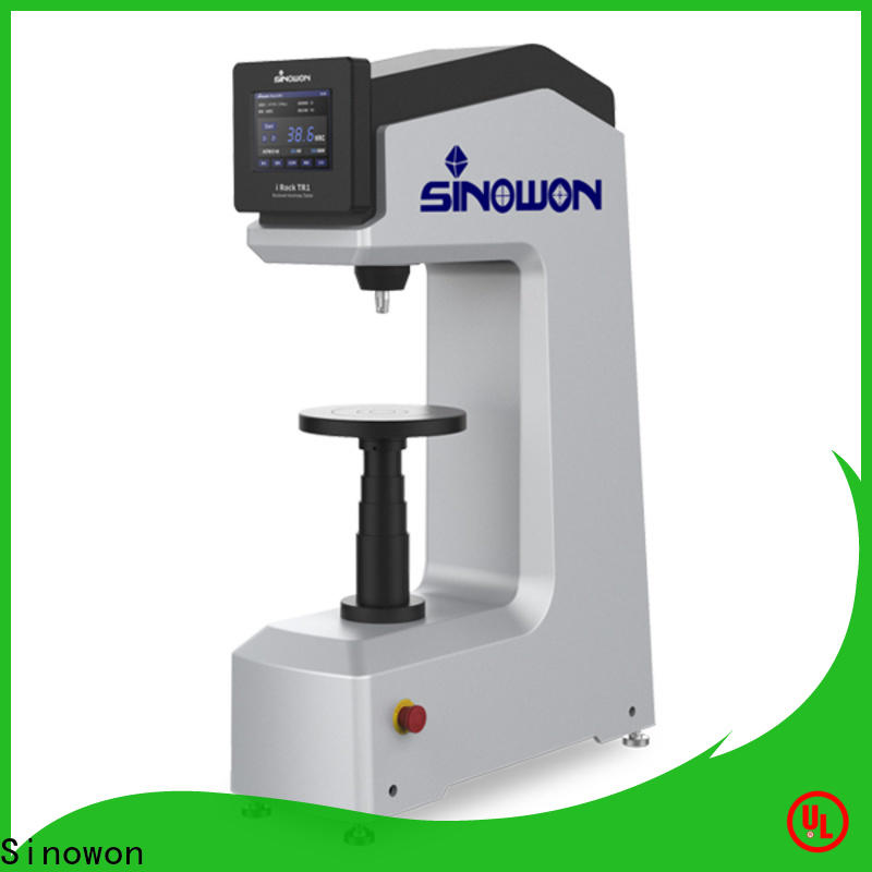 Sinowon rockwell hardness tester factory price for measuring