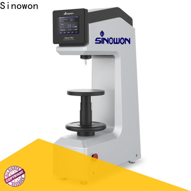 Sinowon reliable rockwell hardness test procedure factory price for measuring
