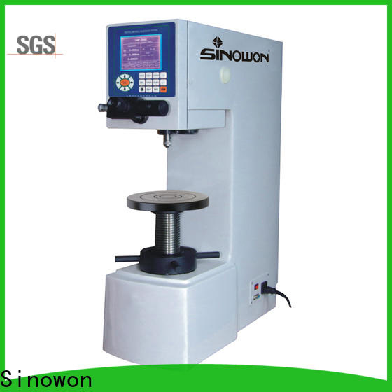 Sinowon hot selling brinell hardness supplier for soft alloys