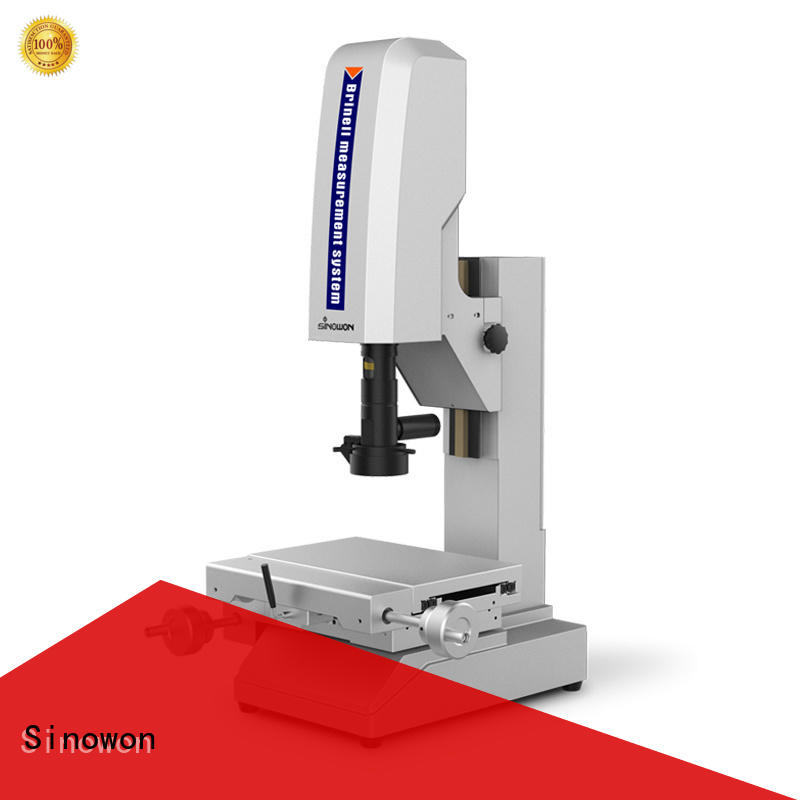 Sinowon brinell hardness test experiment customized for steel products