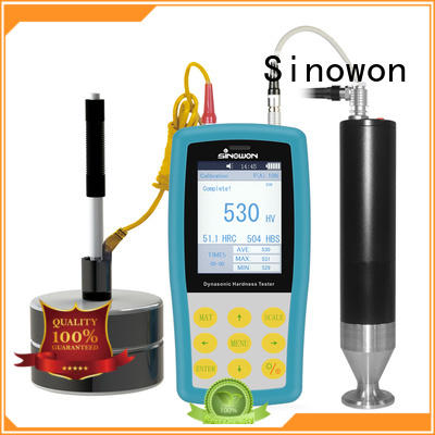 Quality Sinowon Brand ultrasonic portable hardness tester testing durometer