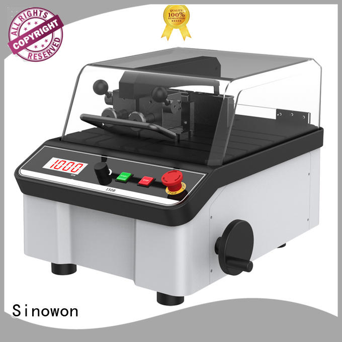 gp202d252d302d metallurgical cutting machine with good price for LCD Sinowon