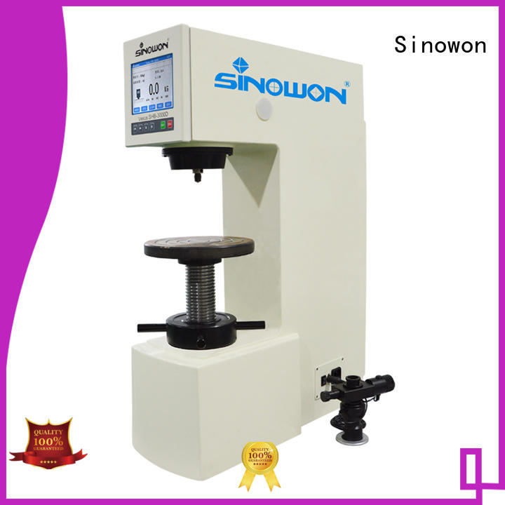 hardness portable Sinowon Brand application of brinell hardness test