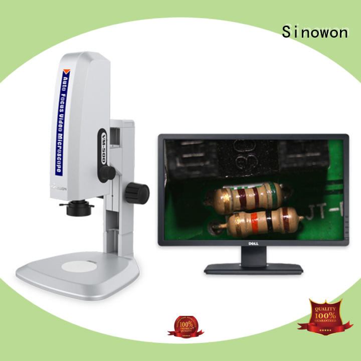 Sinowon coaxial digital optical microscope wholesale for cast iron