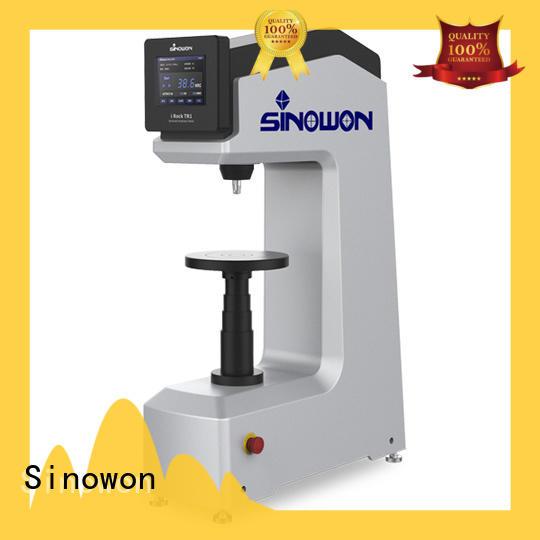 Sinowon practical types of hardness testing machine for measuring