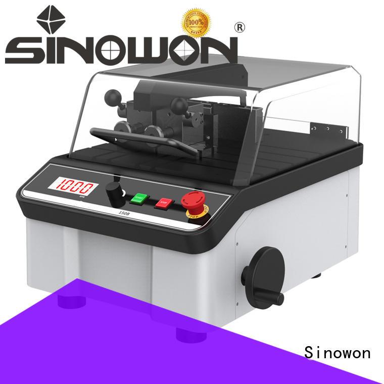 Sinowon elegant polishing equipment design for medical devices