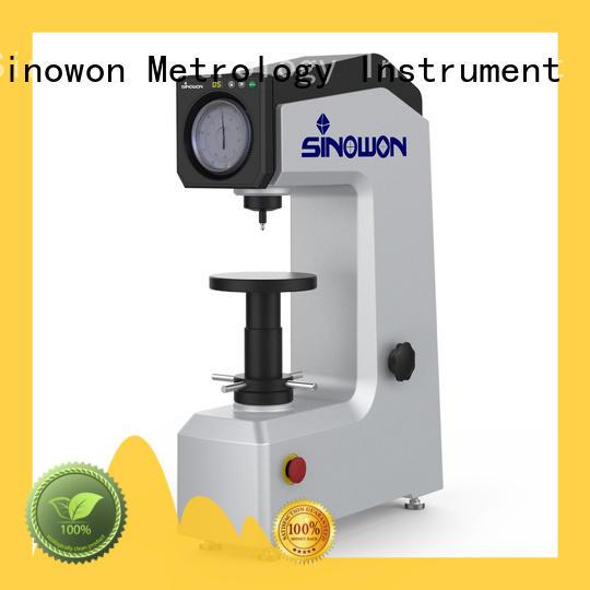 digital rockwell hardness testing machine hr1 for measuring Sinowon