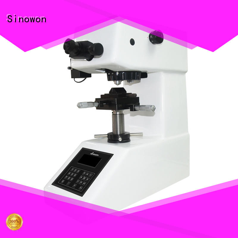 Sinowon micro vickers hardness tester manufacturer for small parts