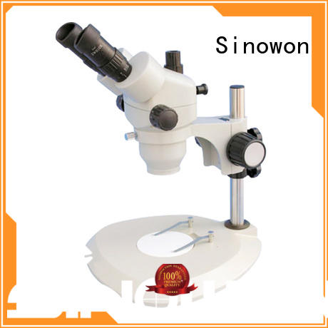 Sinowon stereo stereo zoom microscope personalized for precision industry