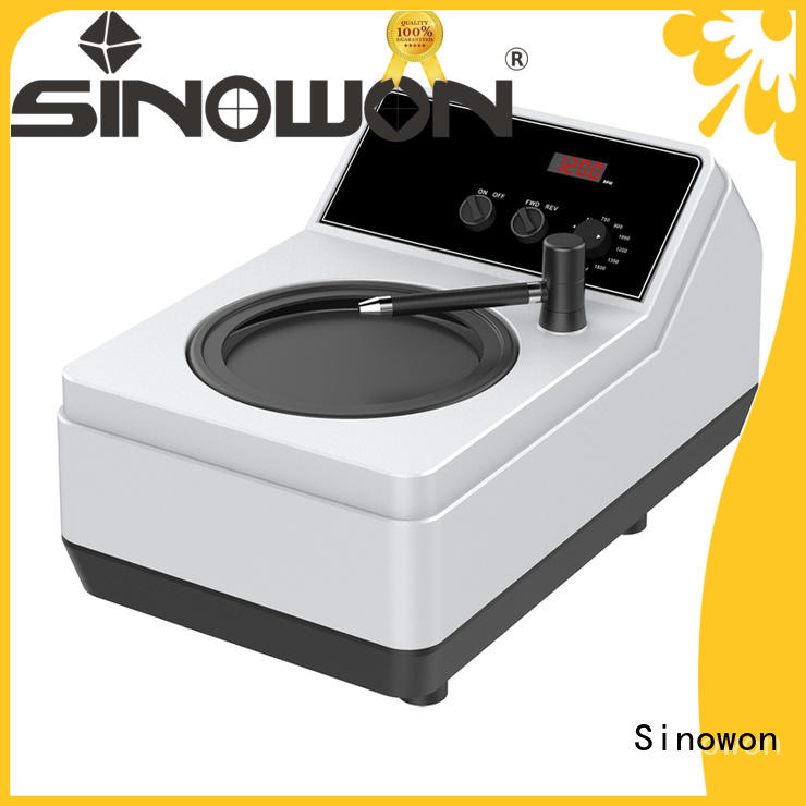 Sinowon approved metallographic equipment inquire now for electronic industry