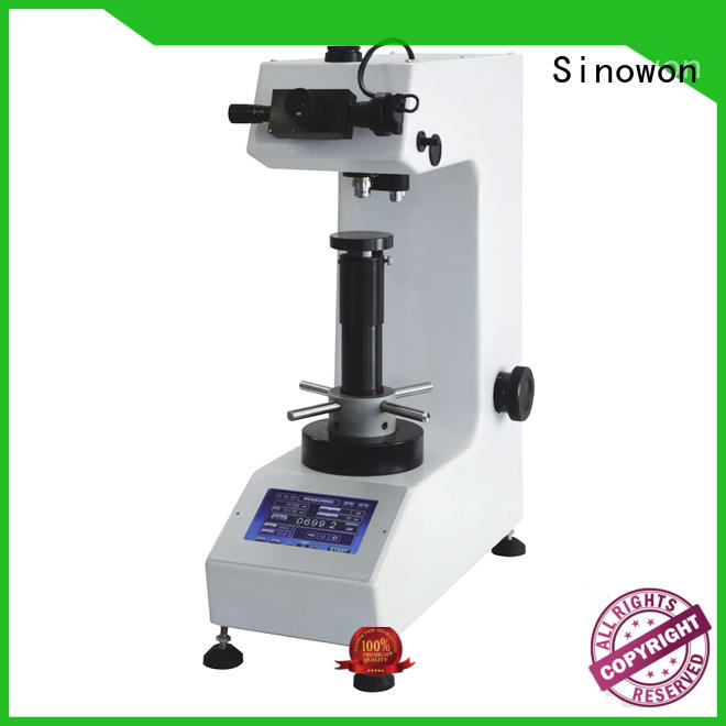 high accuracy monitor cost-effecitvie measuring hardness vickers hardness machine Sinowon Brand