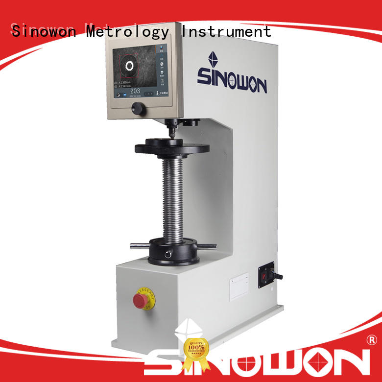 Sinowon brinell hardness test directly sale for cast iron