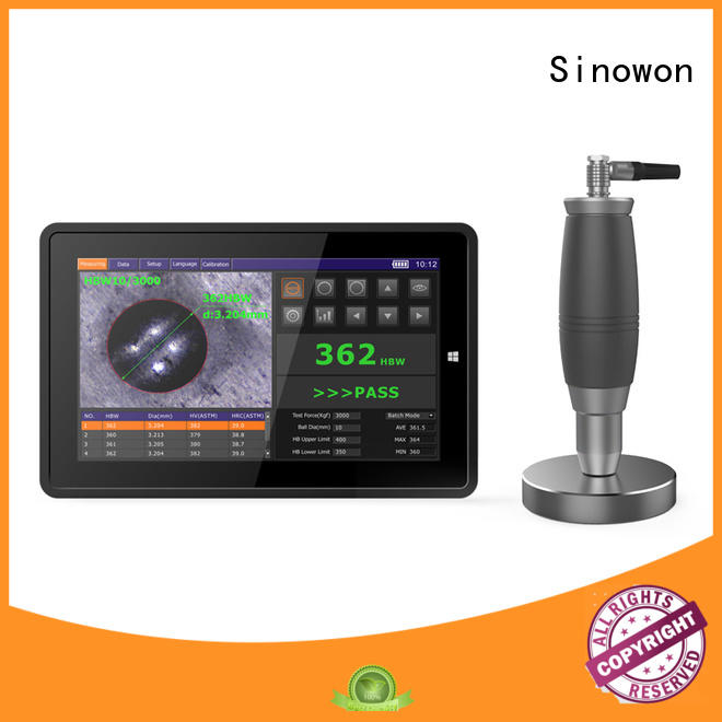 Sinowon brinell hardness to rockwell series for nonferrous metals