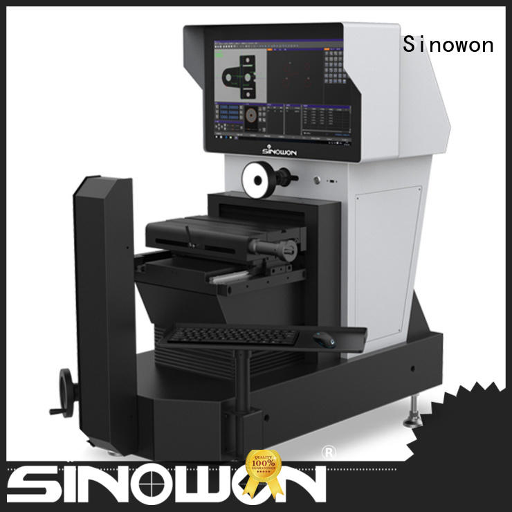horizontal optical profile projector series for thin materials