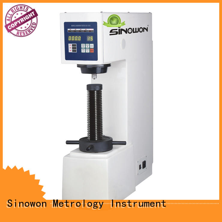 Sinowon durable brinell hardness test experiment from China for soft alloys