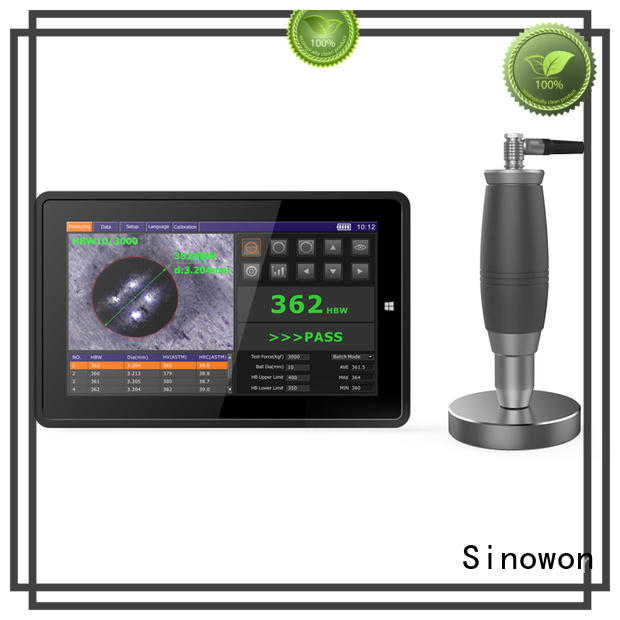 measuring king hardness tester touch for steel products Sinowon