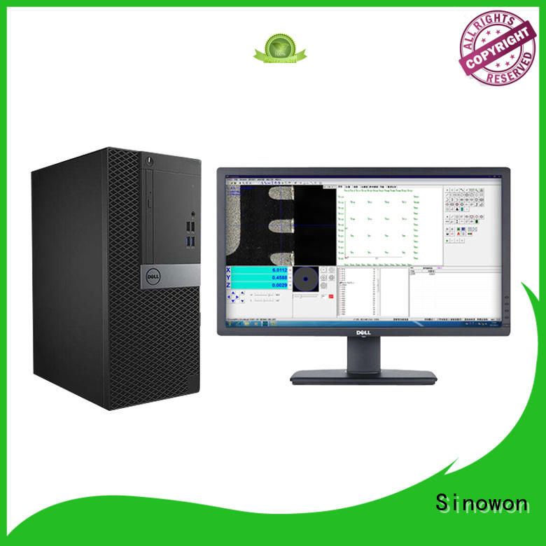 configuration precision inspection microscope with camera linear scales Sinowon Brand