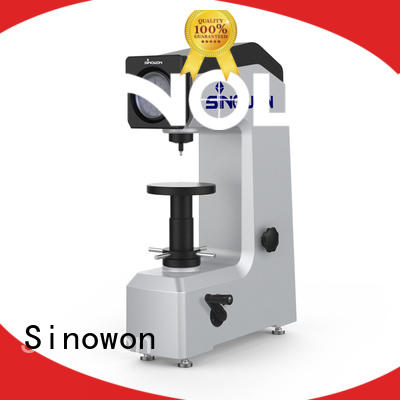 Sinowon motorized rockwell hardness conversion manufacturer for small areas