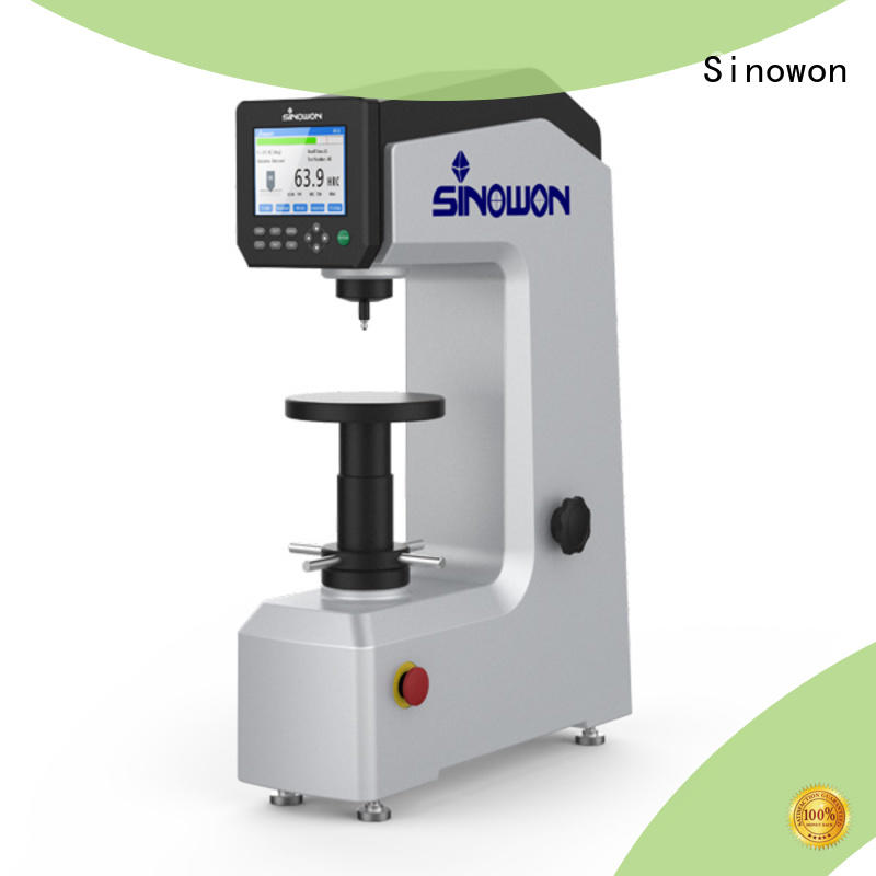 Sinowon rockwell hardness test procedure series for small areas