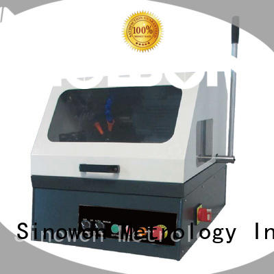 Sinowon metallographic polishing factory for electronic industry
